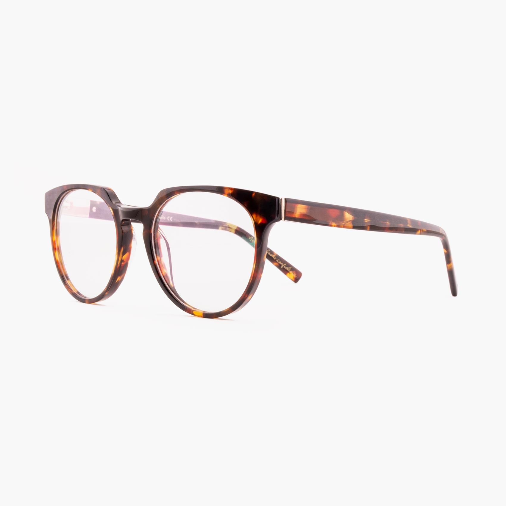Proud eyewear Benigni C1 L montura con puente de cerradura havana
