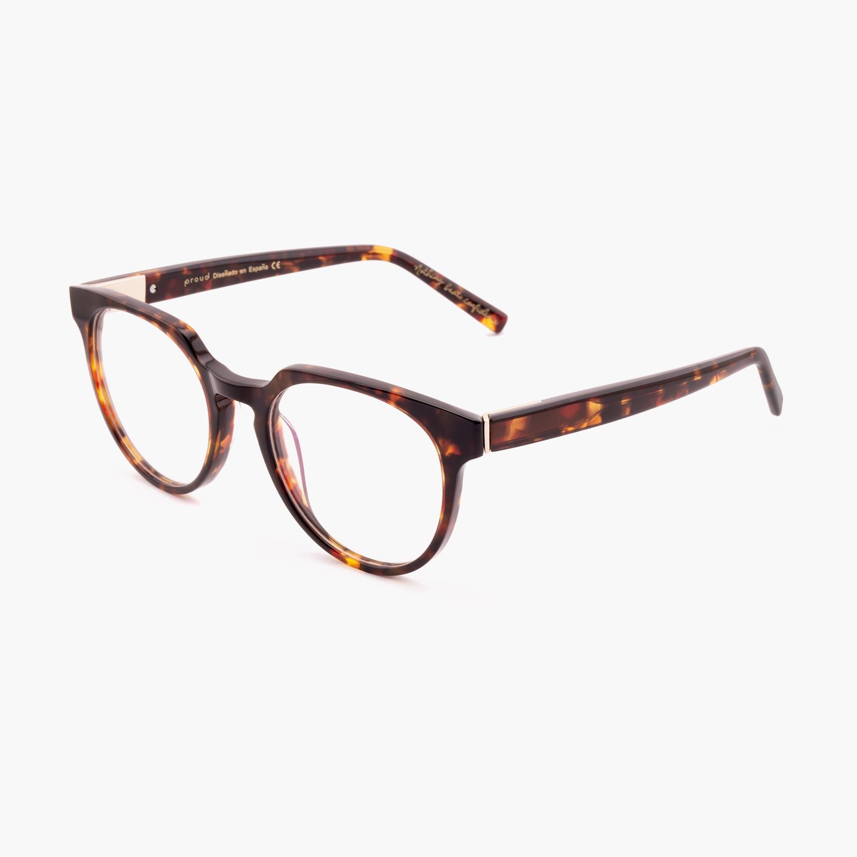 Proud eyewear Benigni C1 P tendencia gafas graduadas havana
