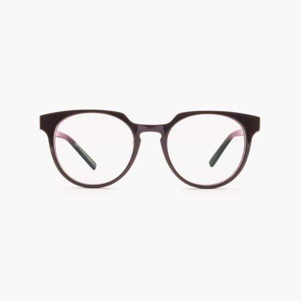 Proud eyewear Benigni C2 F gafas puente cerradura marrón oscuro