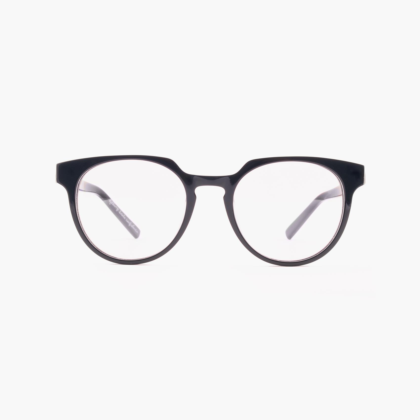 Benigni gafas graduadas modernas en azul oscuro