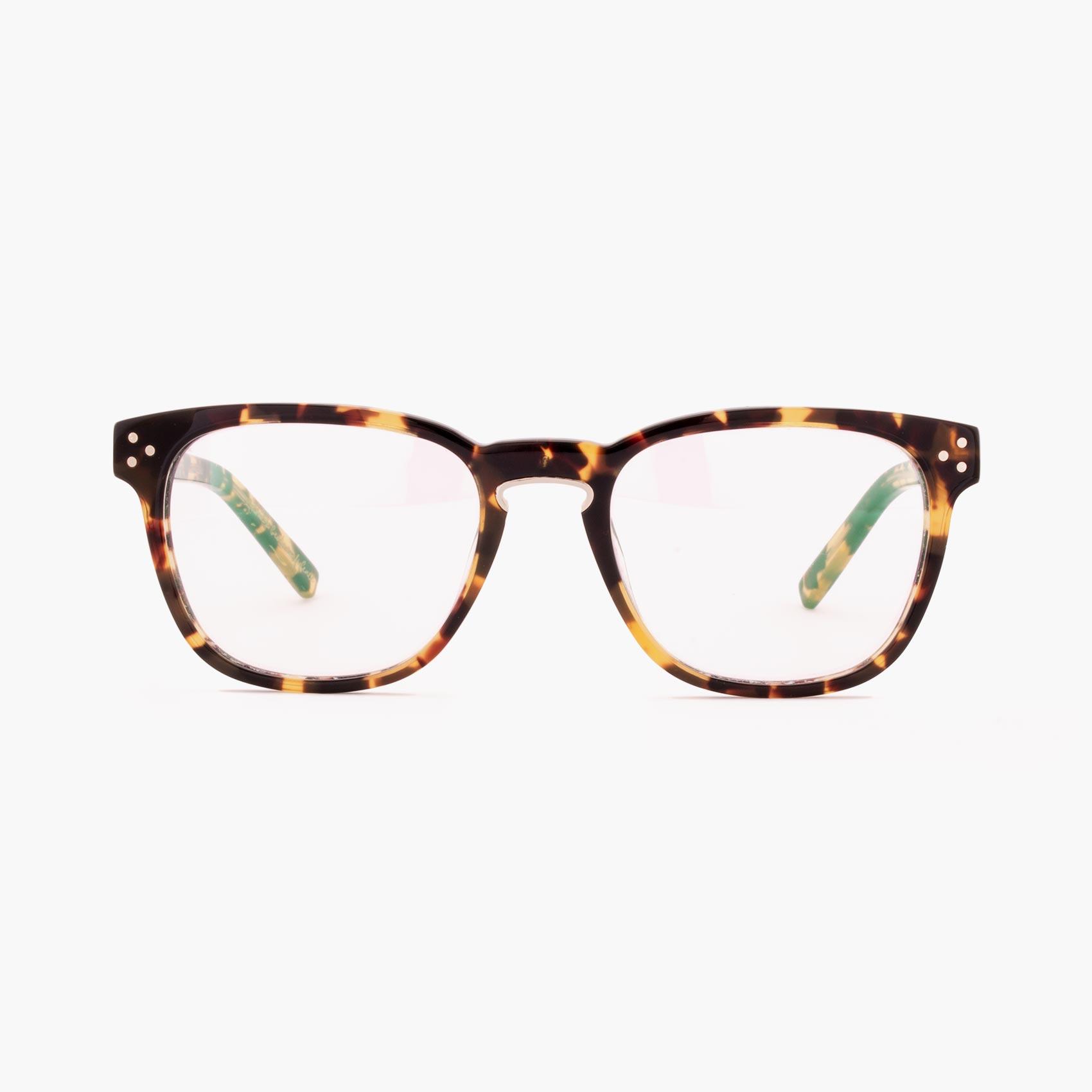 Firth gafas con puente de herradura en color havana