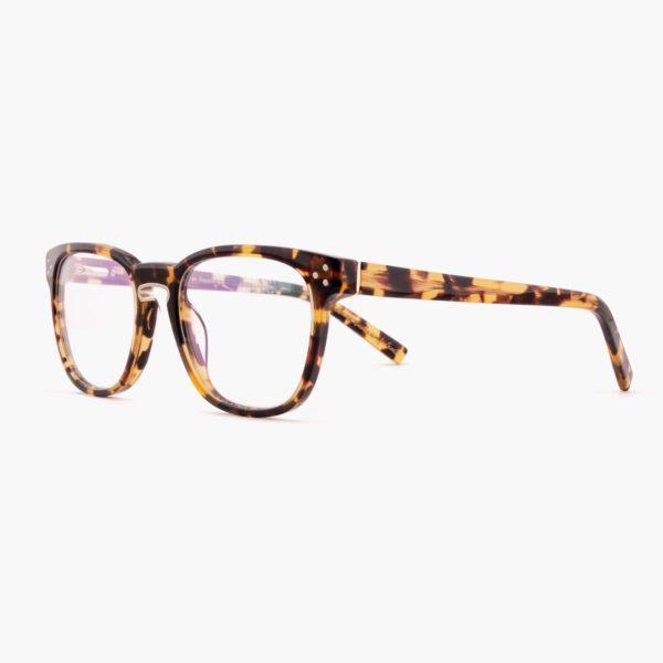 Proud eyewear Firth C1 L montura con puente de herradura havana