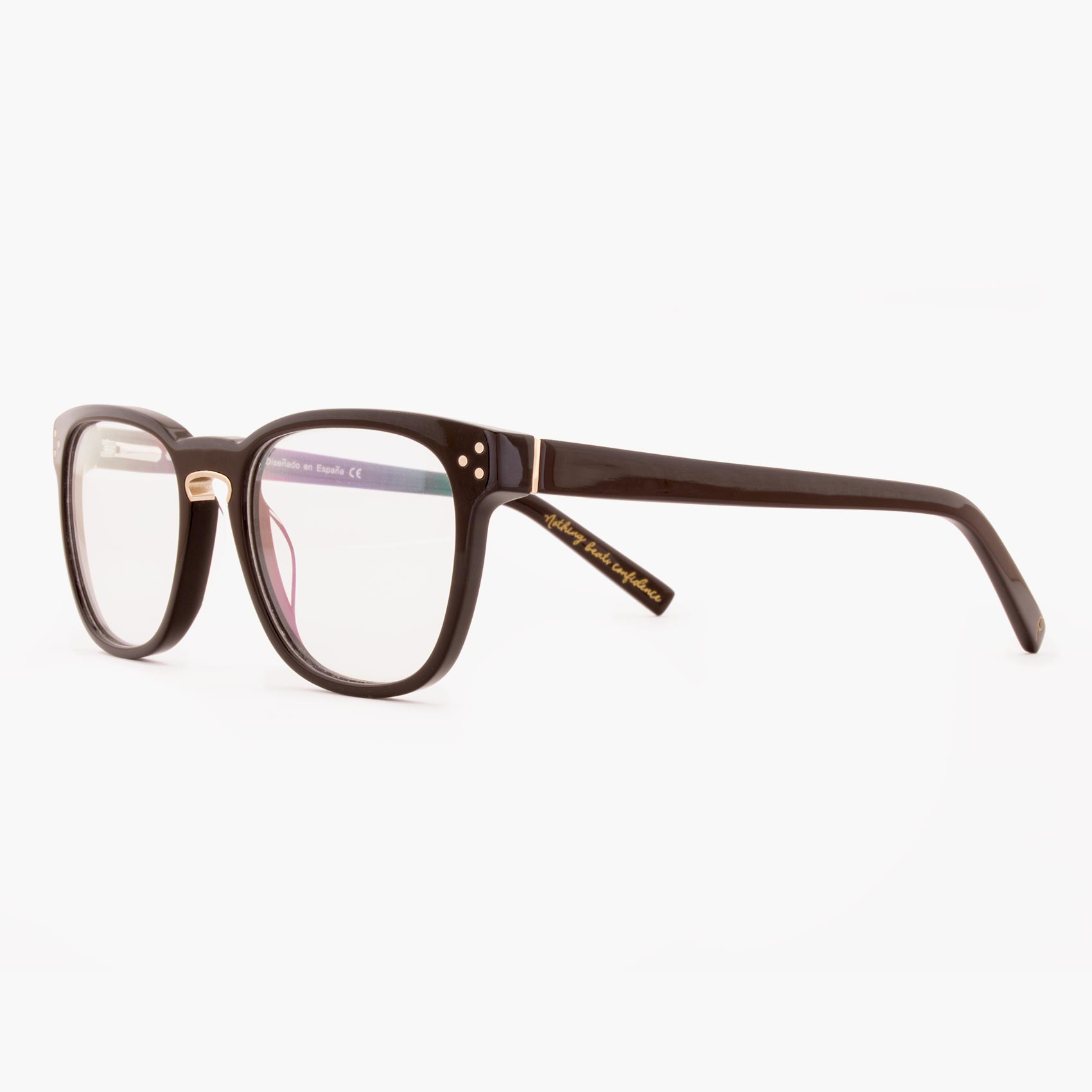 Proud eyewear Firth C2 L montura gafas acetato marron oscuro