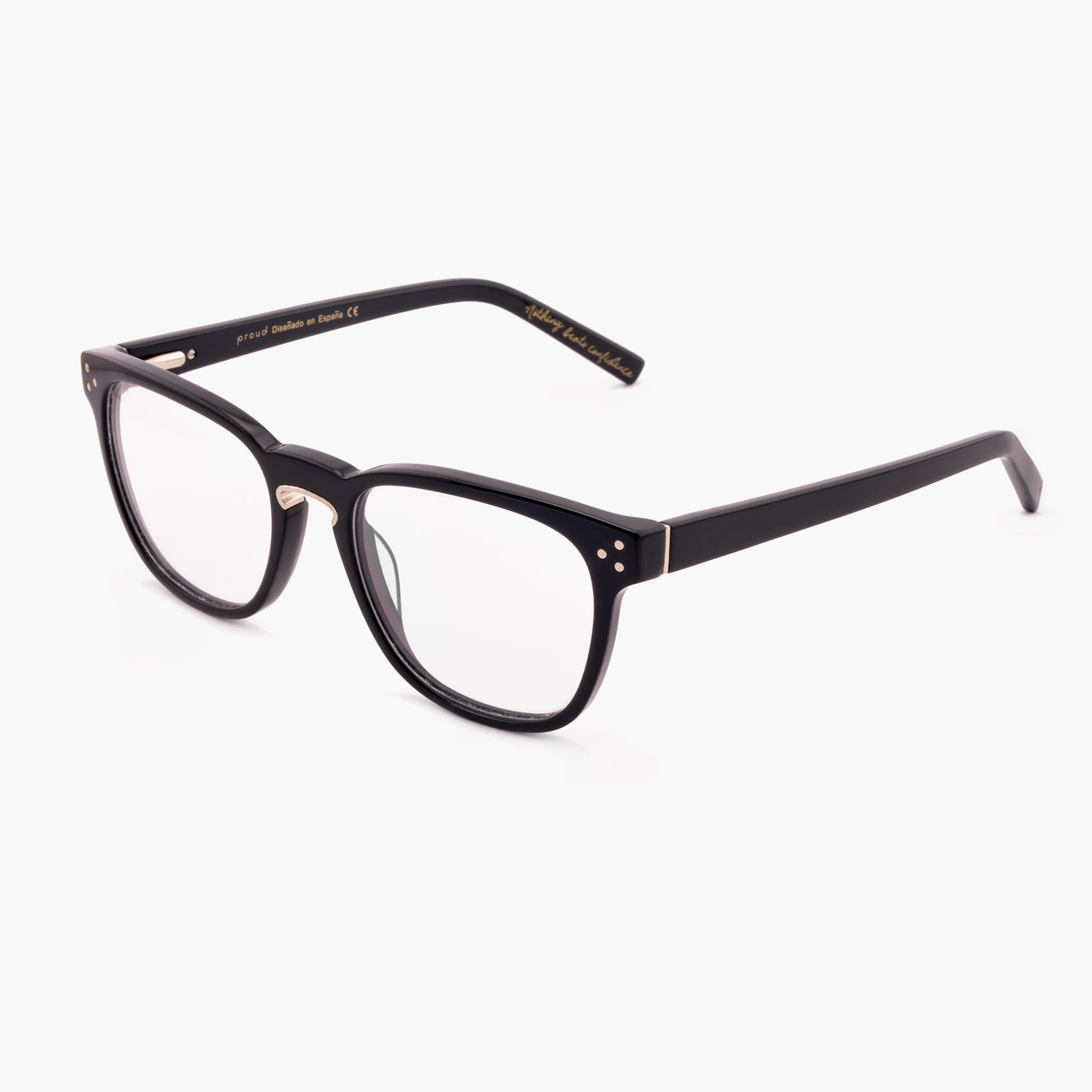 Proud eyewear Firth C3 P montura con puente de herradura azul oscuro