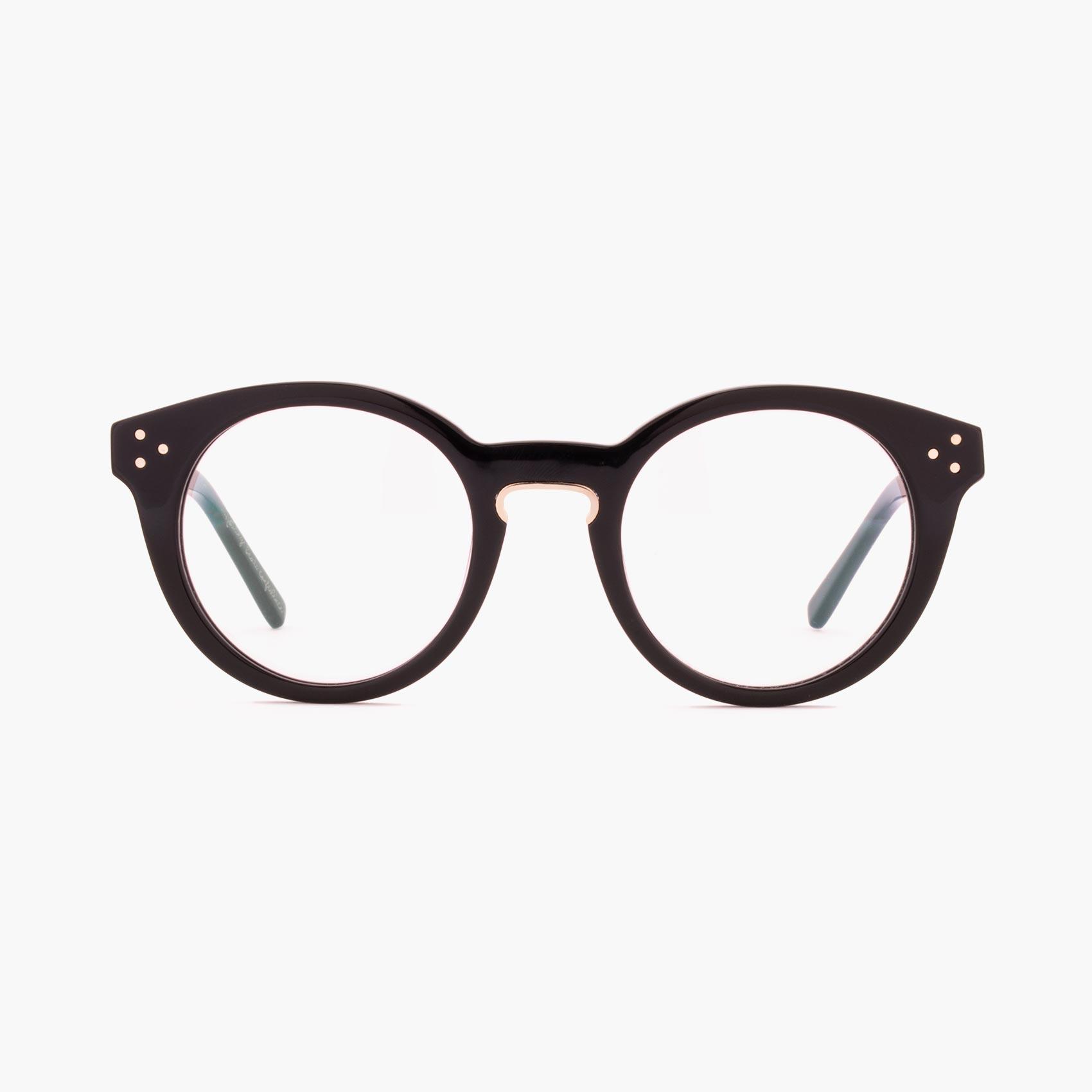 Gafas de estilo pantos graduadas para hombre o mujer Proud eyewear modelo Hanks negro