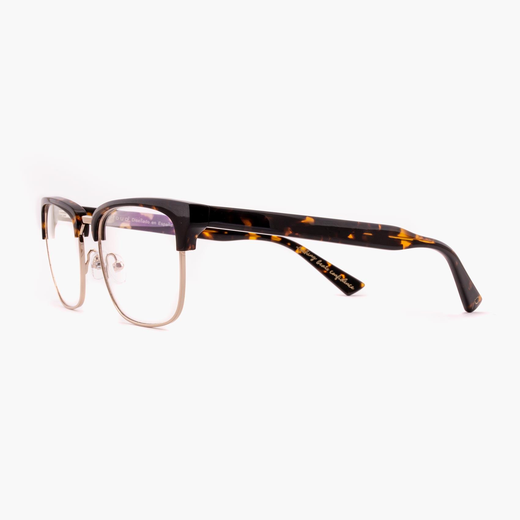 Proud eyewear Hopkins C1 L montura graduada clubmaster havana