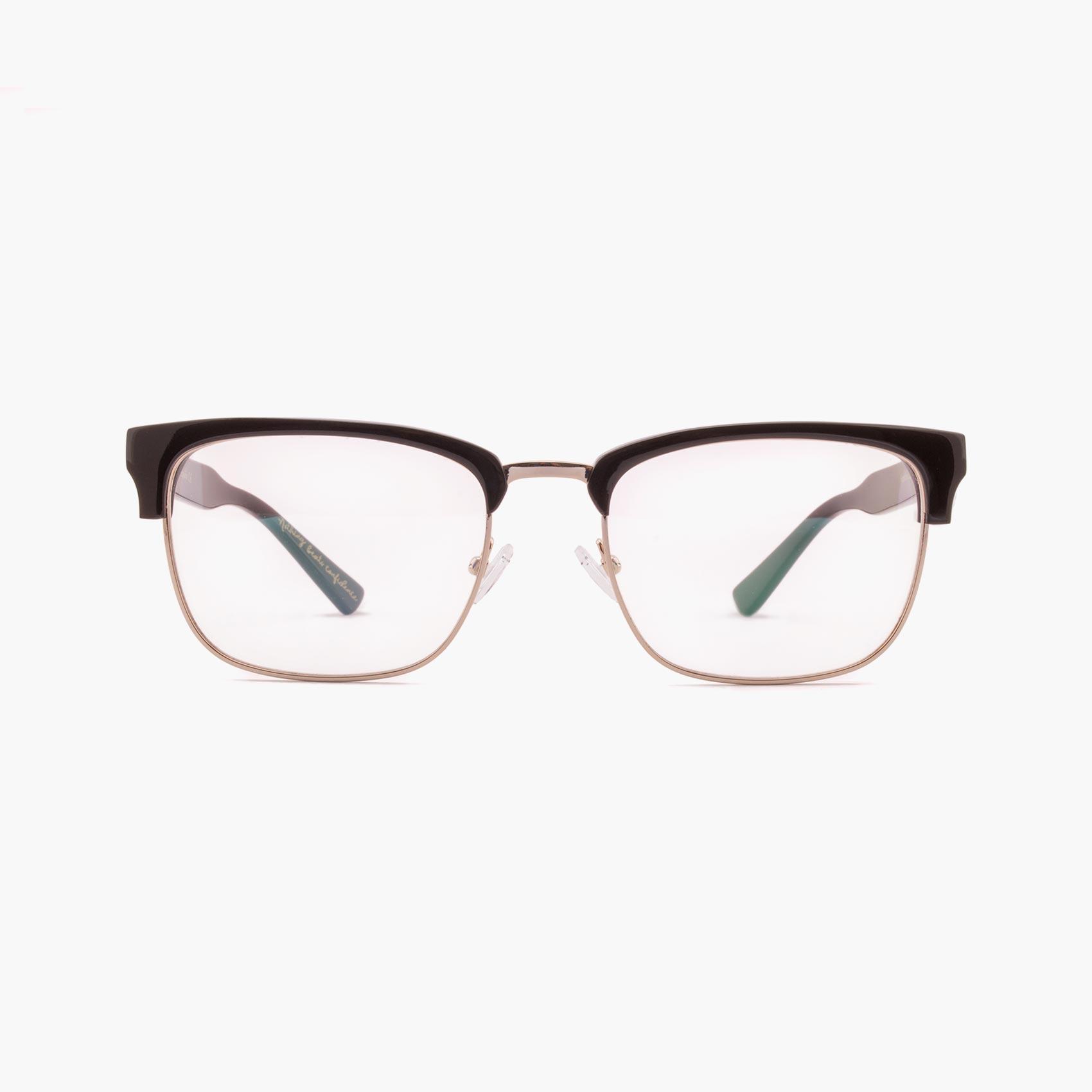 Proud eyewear Hopkins C2 F gafas graduadas clubmaster negras