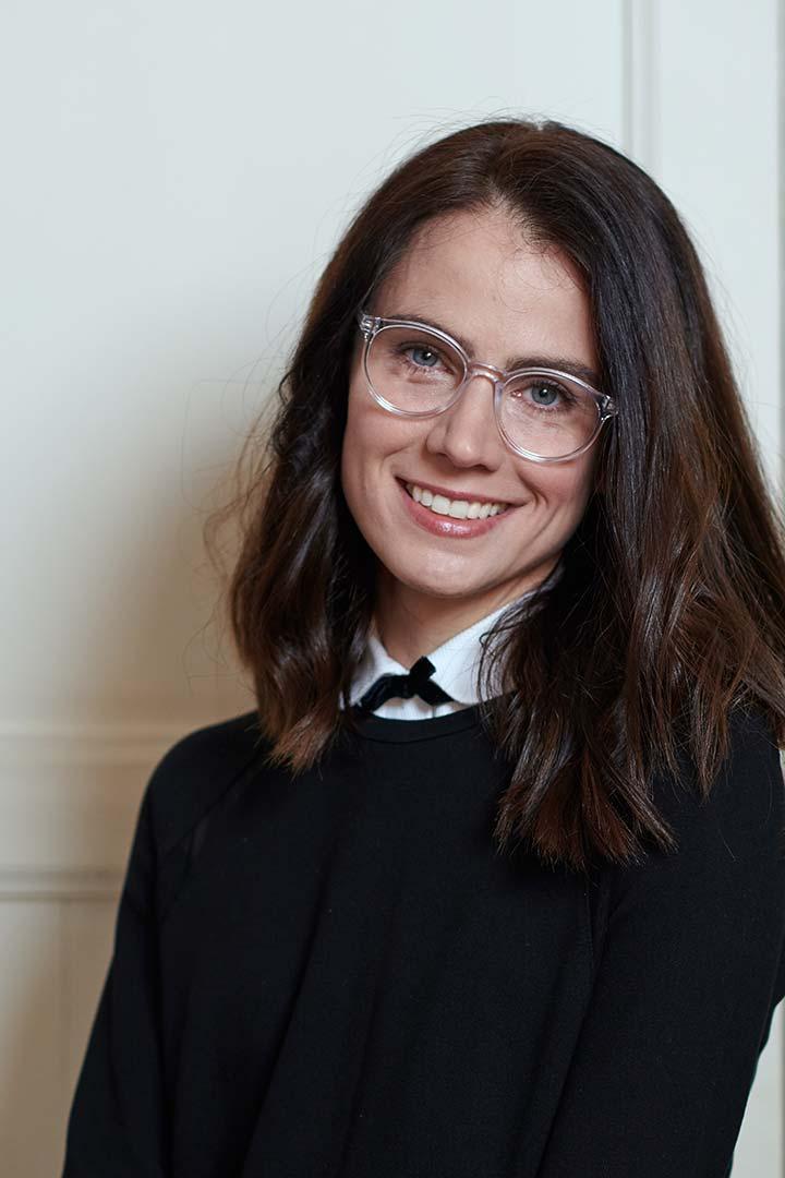Modelo de gafas discretas para mujer Crowe transparentes