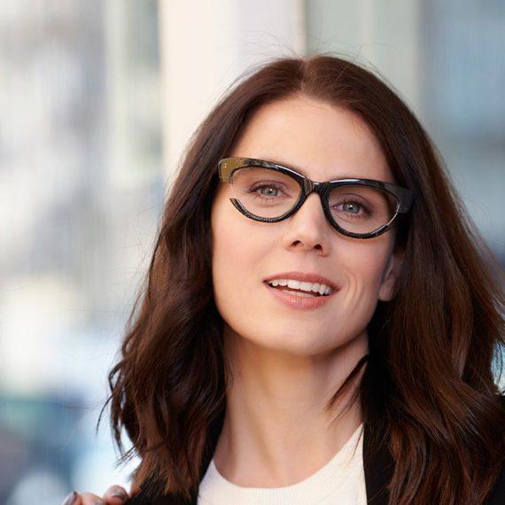 Montura cateye de gafas Proud para mujer