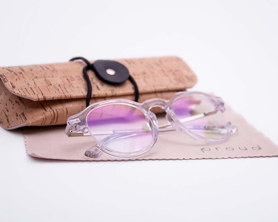 Gafas de diseño sostenible Proud