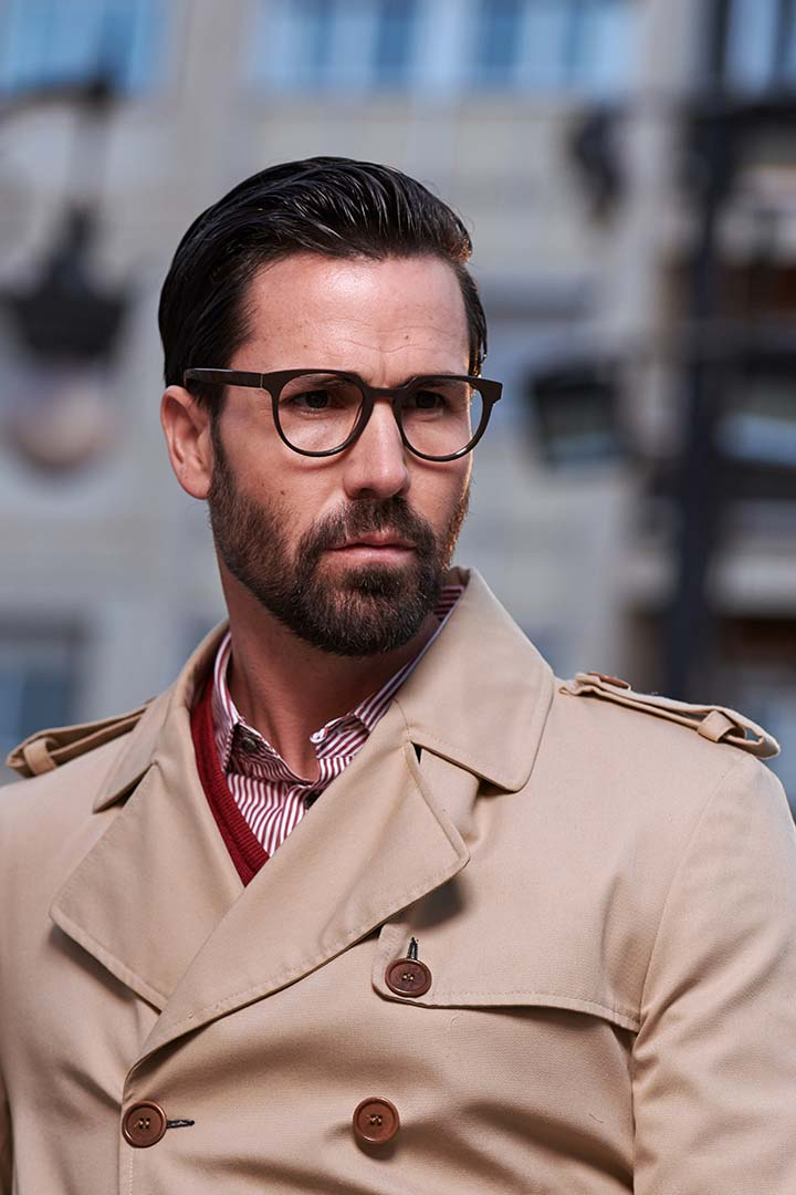 Gafas graduadas modernas para hombre o mujer