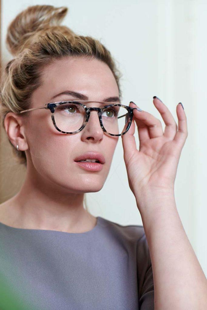 Montura para gafas graduadas de doble puente modelos Hilary
