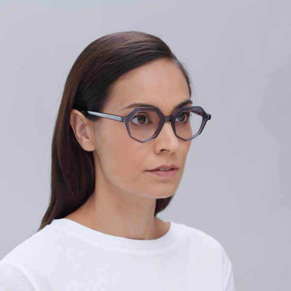 Roma compostable frame eco-friendly sunglasses in grey