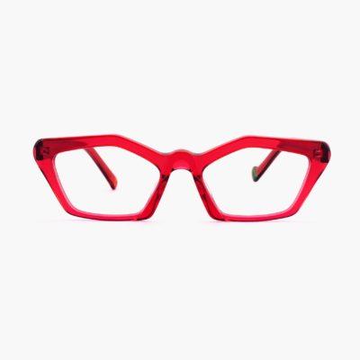 Proud eyewear Ibiza C5 F montura roja diseño mujer