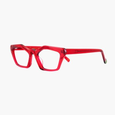 Proud eyewear Ibiza C5 L montura roja compostable