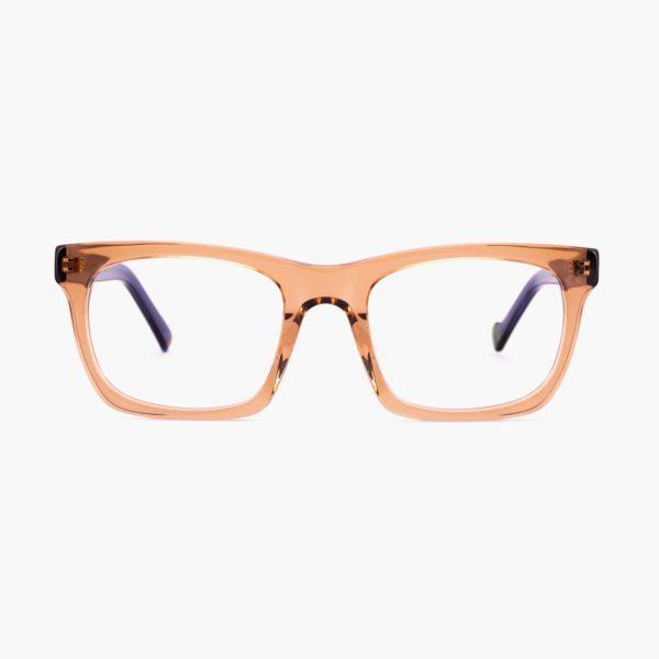 Proud eyewear Oporto C2 F montura marrón claro diseño