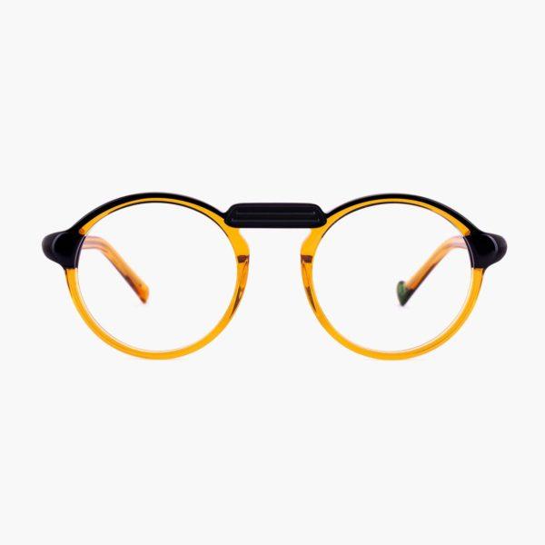 Compostable acetate glasses Oxford Black Proud eyewear