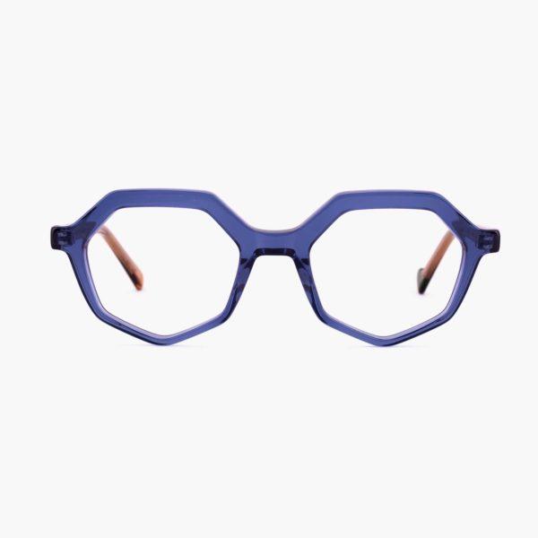 Proud eyewear Roma C3 F montura azul compostable