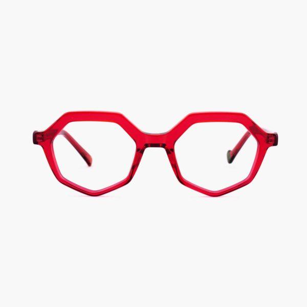 Proud eyewear Roma C5 F montura roja compostable