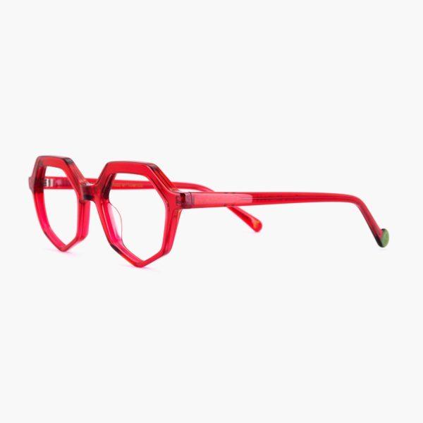 Proud eyewear Roma C5 L montura roja compostable