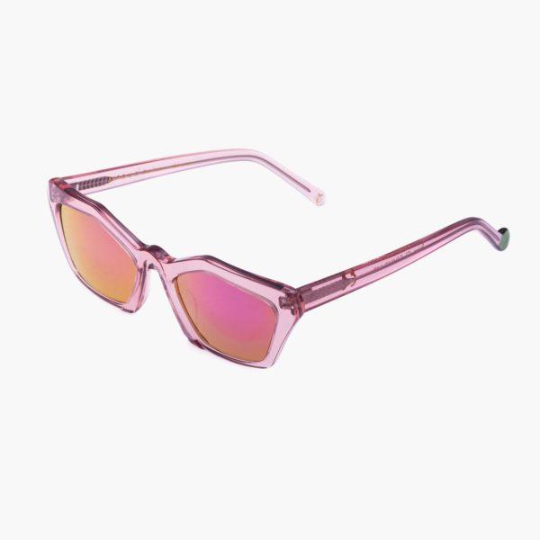 Sustainable sunglasses Ibiza pink