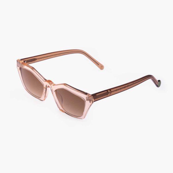 Transparent Ibiza sustainable fashion sunglasses