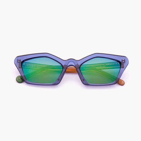 Cat eye sunglasses Ibiza model color blue Proud eyewear