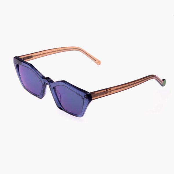 Sustainable sunglasses Ibiza blue