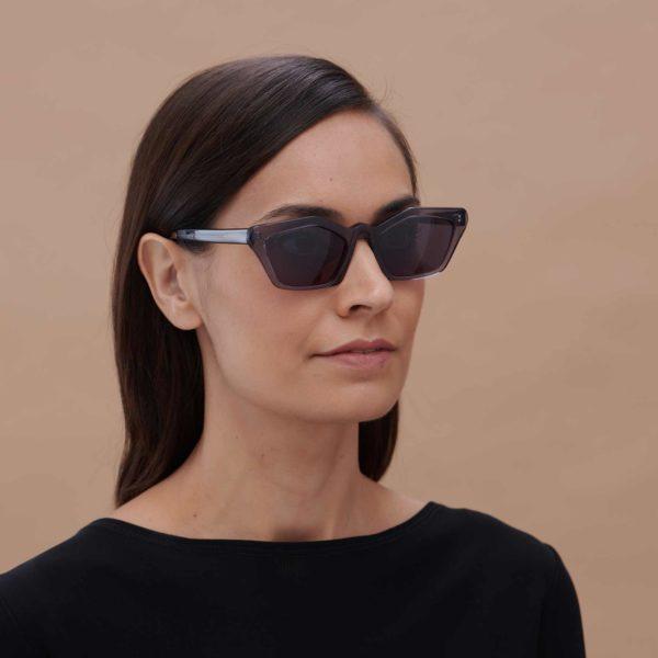 Ibiza gray ecological sunglasses