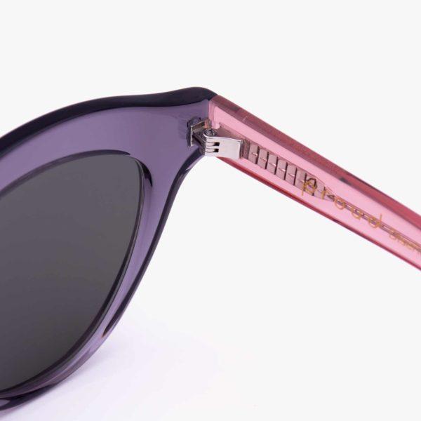 Detalle charnela alemana en Gafas Marsella Proud Eyewear