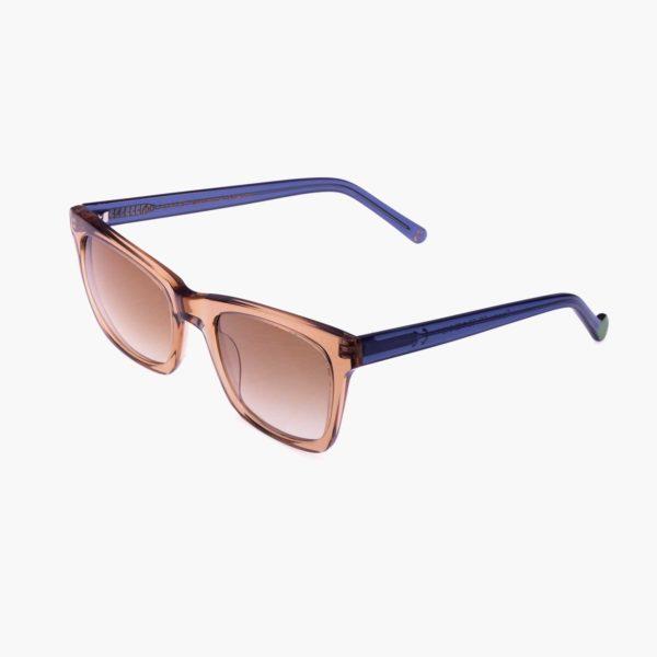 Gafas de sol compostables modelo Oporto beige / azul - Proud eyewear