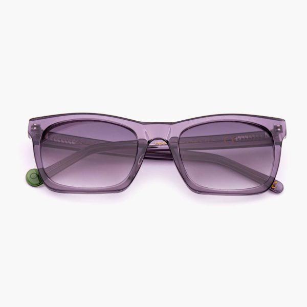 Gafas de sol de moda sostenible color gris Oporto Proud eyewear