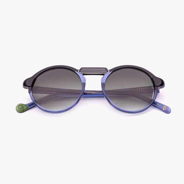 Gafas de sol ligeras y ecológicas en azul y negro modelo Oxford mini - Proud eyewear