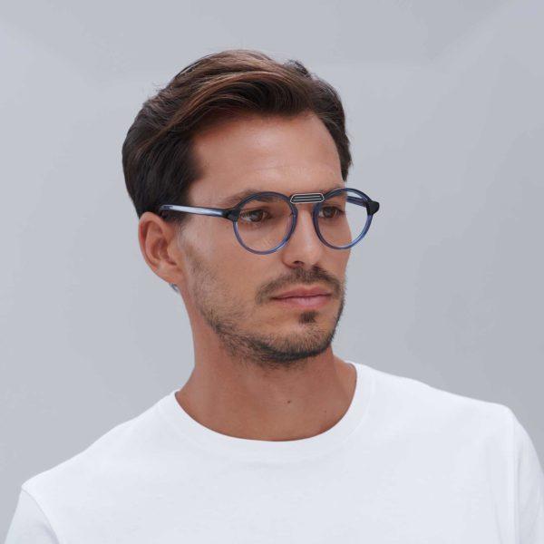 Gafas para graduar de montura moderna ligera Azul mini