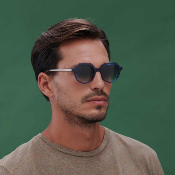 Sustainable designer sunglasses Roma Azul by Proud eyewear