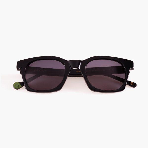 Benimaclet Black Sustainable Fashion Ecological Sunglasses