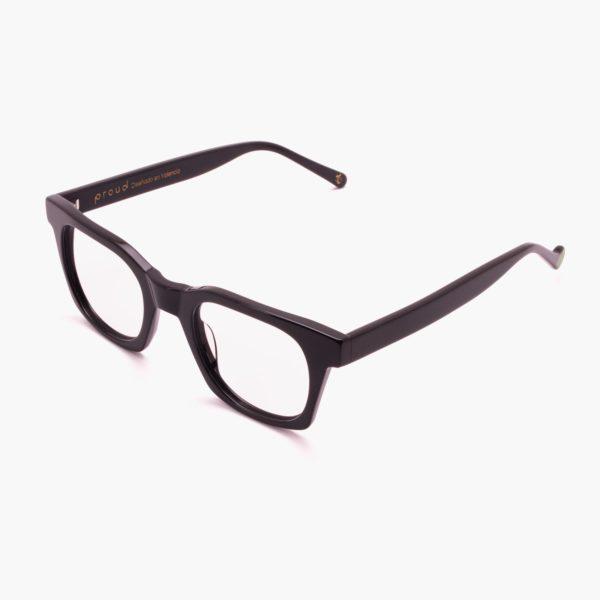 Sustainable fashion glasses Benimaclet black