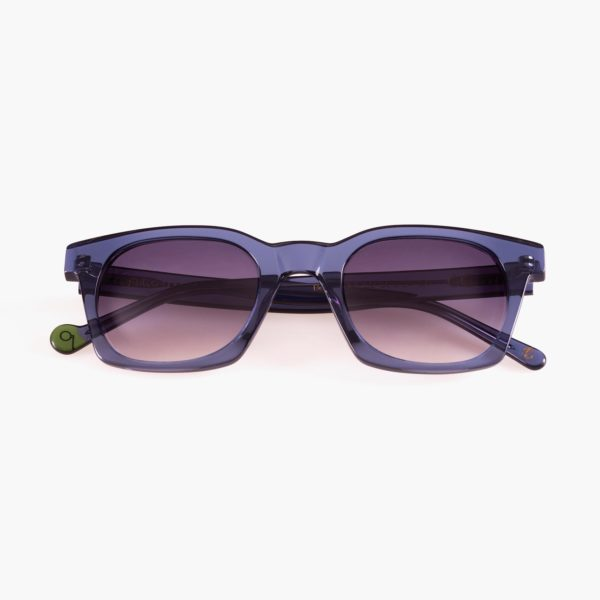 Benimaclet Blue Compostable Frame Ecological Sunglasses