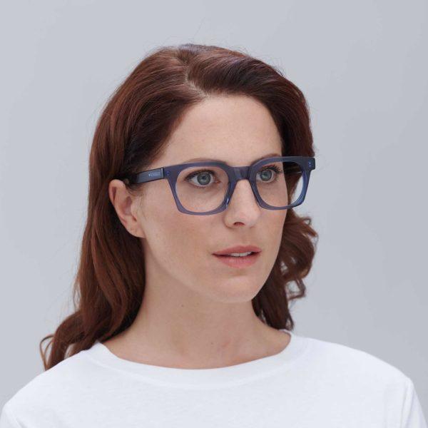 Benimaclet blue Valencian design ecological glasses