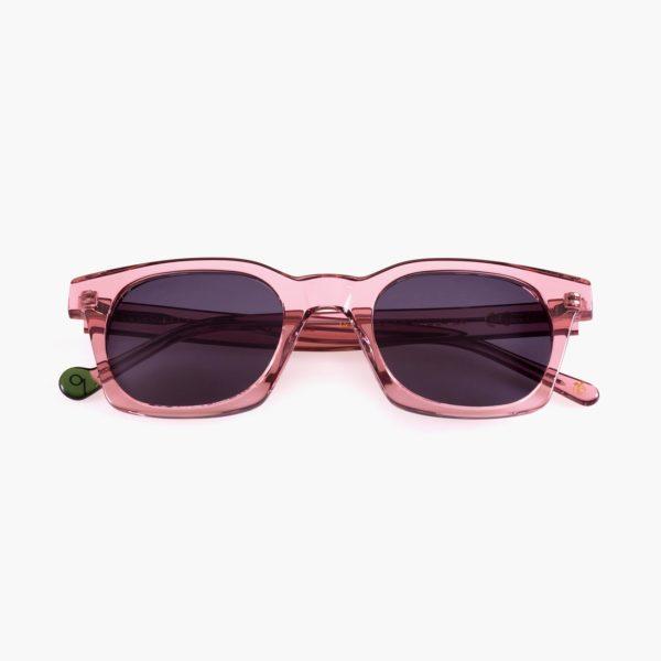 Eco-friendly circular econonomy sunglasses Benimaclet Rosa