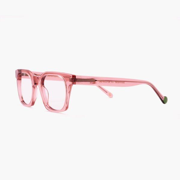 Benimaclet pink ecological designer glasses