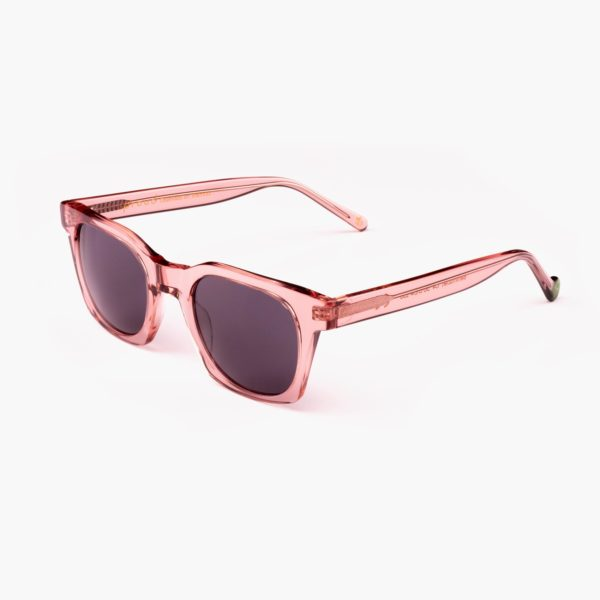 Pink circular ecomony sunglasses