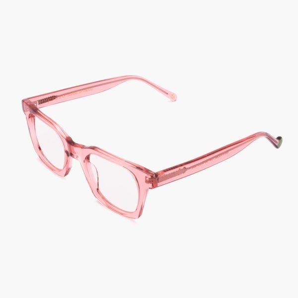 Ecological designer glasses Benimaclet pink