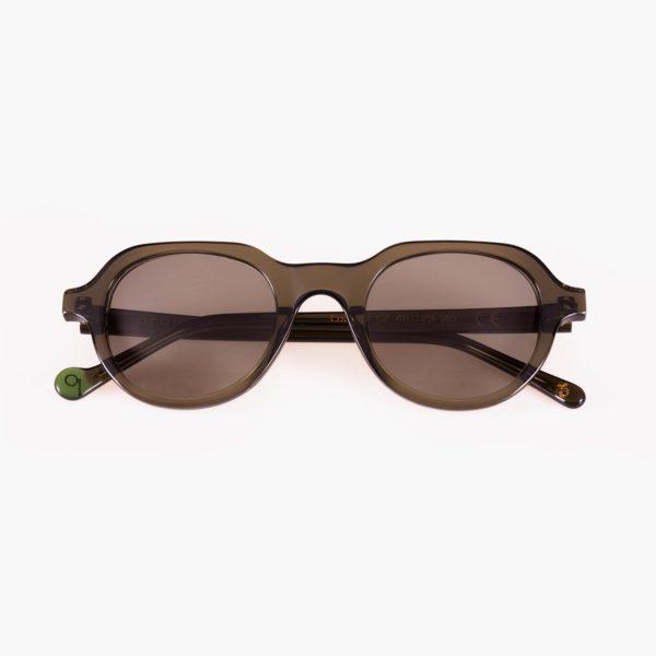 Gafas de sol ecológicas para jóvenes en verde