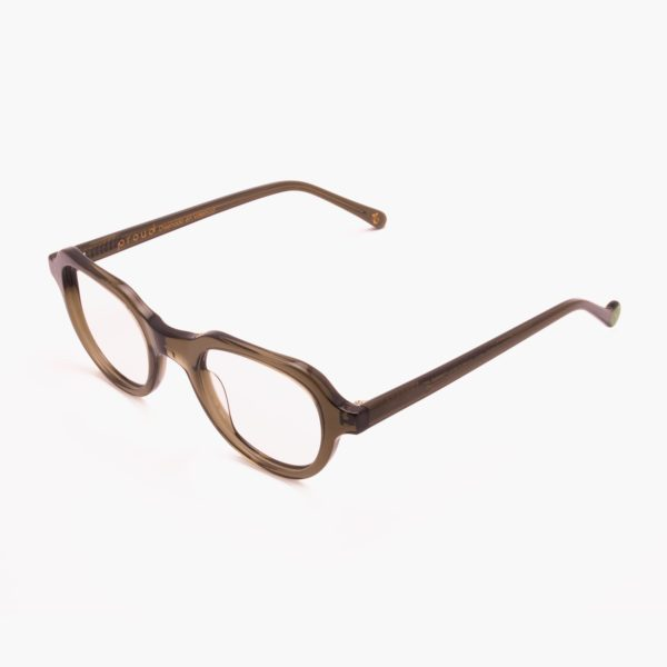 Gafas graduables eccologicas color verde modelo Cabañal de Proud eyewear