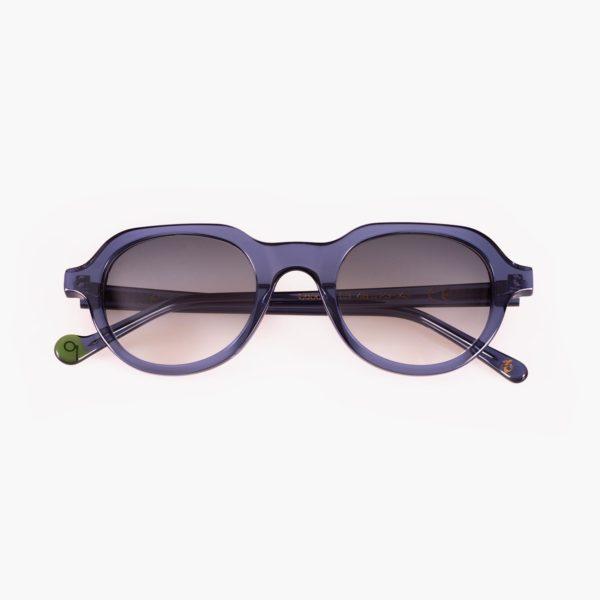 Gafas de sol sostenibles para jóvenes en azul