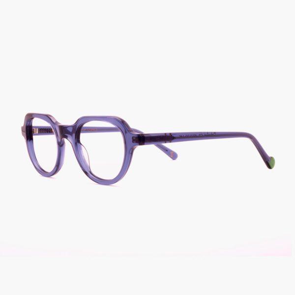 Gafas para graduar moda sostenible azul Cabañal de Proud eyewear