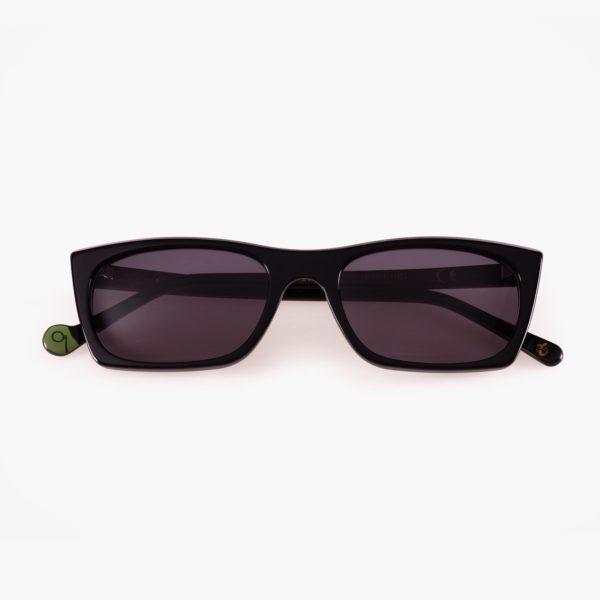 Proud eyewear Malvarrosa black sustainable fashion sunglasses