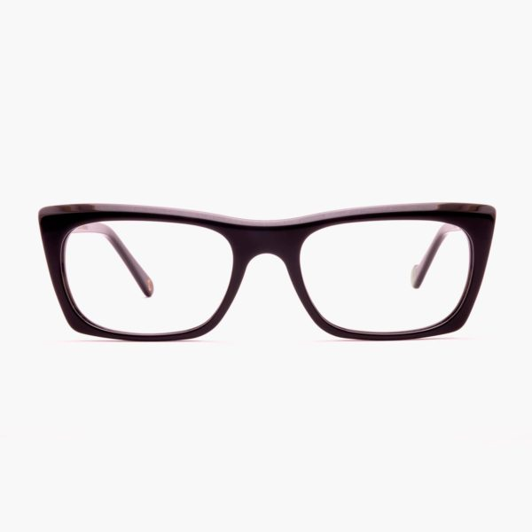 Ecological glasses to graduate black Malvarrosa