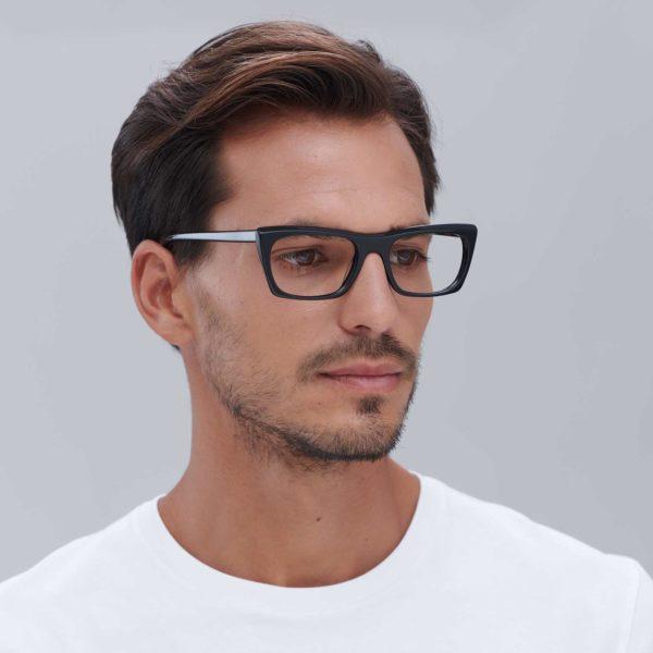 Malvarrosa prescription glasses for men in black